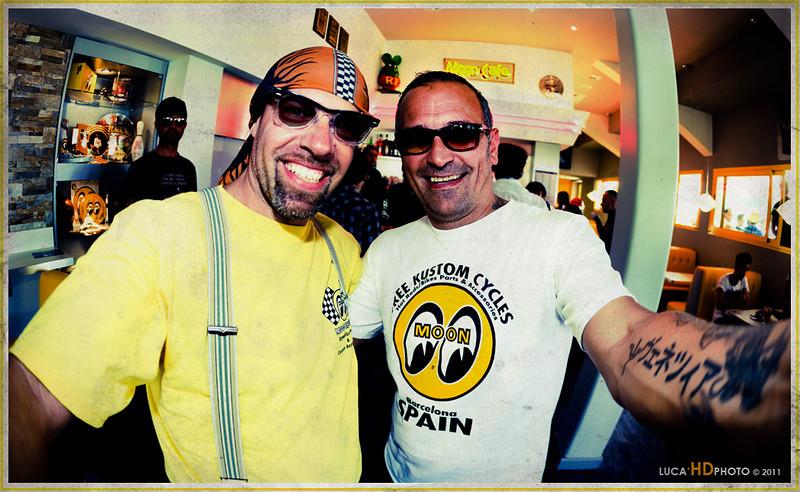 Me & Alberto, MQQN CAFE Jesolo 21 Maggio 2011  http://mooncafe-italy.blogspot.com/