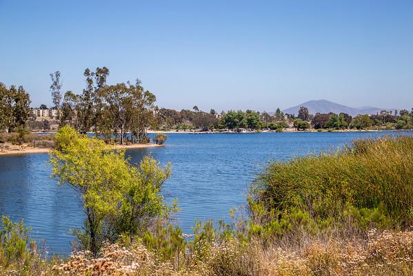 Panoramas of Lake Murray