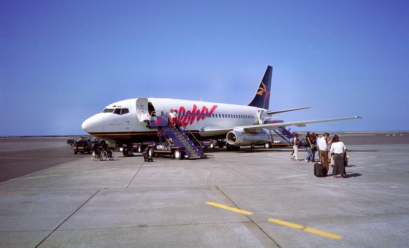 Aankomst op Hawaii eiland