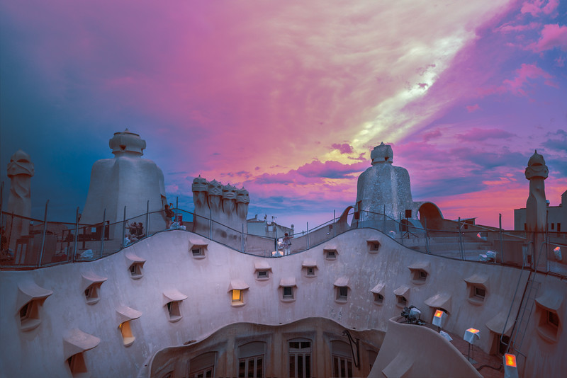 The Roof and the Sunset