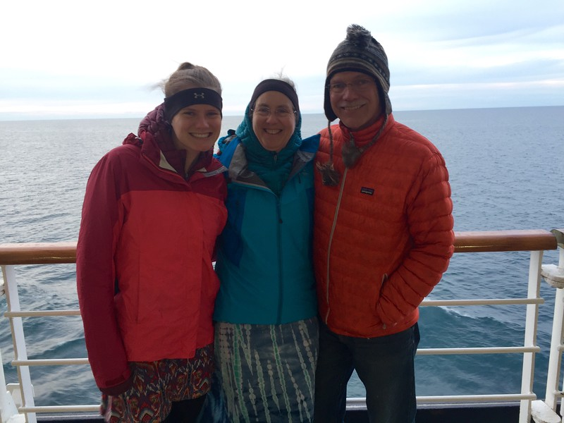 On board Holland America Oosterdam
