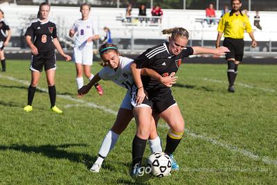9-13-14 Minneapolis South v Minneapolis Southwest Girls Soccer