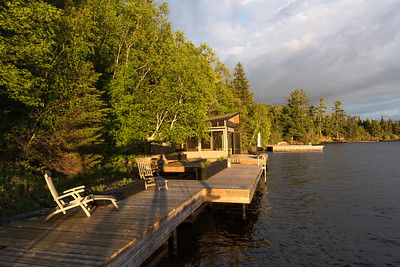 OUR COTTAGE and DOCK at the LAKE