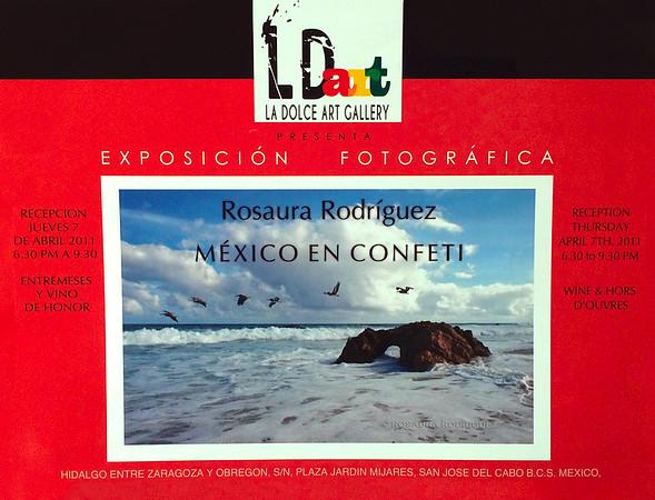"""Exhibit """"México en Confetti"""""""