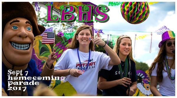 Homecoming Parade - September 7, 2017