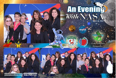 An evening with NASA