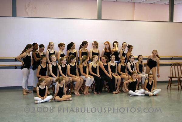 Dance Compay 2005 Group Photos