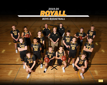 Royall boys basketball BBB1920