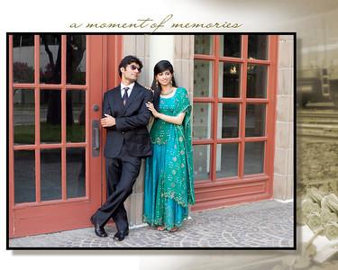 Taimor & Iqra Flash Mount Album