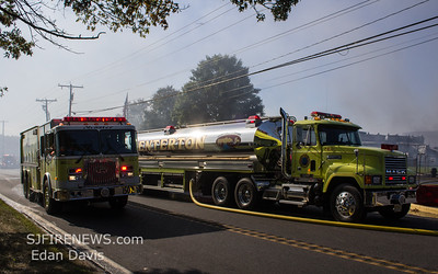 09/17/2019, 4 Alarm Commercial Structure, Deerfield Twp. Cumberland County NJ, Lebanon Rd. F&S Produce