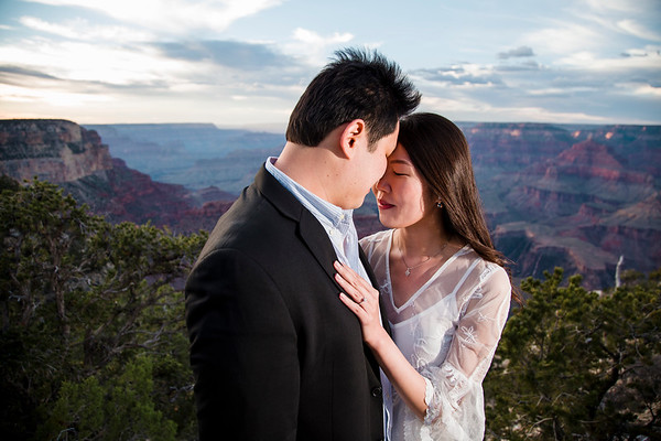 Eliane and Jason | Yavapai Point Engagement