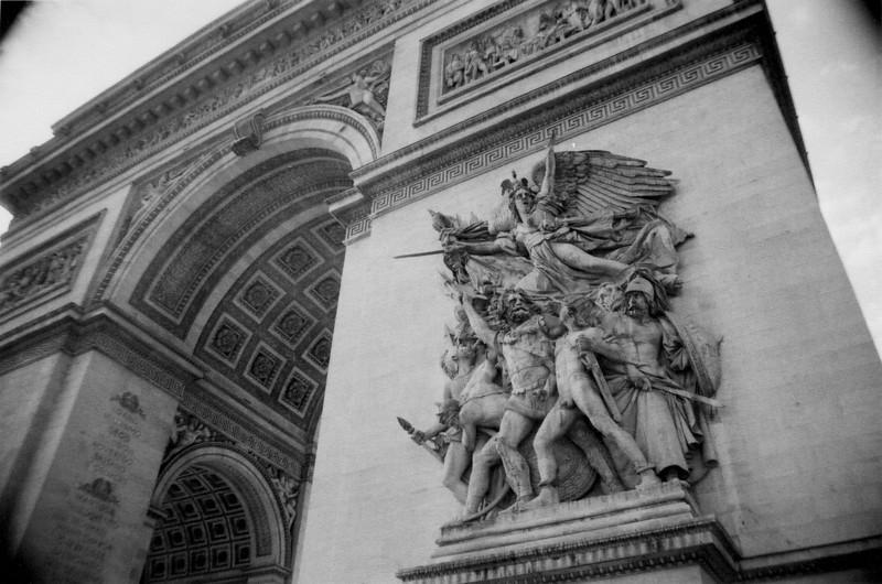 Paris, France: Arc de Triomphe