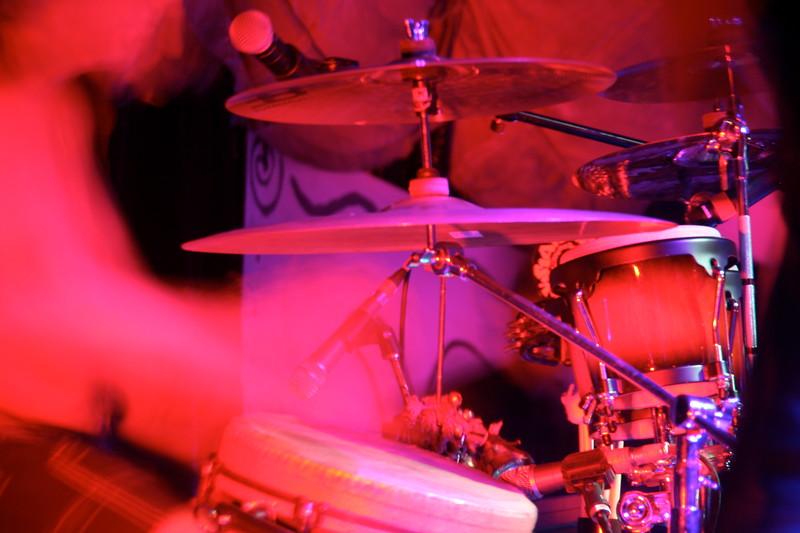Iannin's ghostly drumming