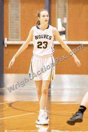 2020 01 14 Clarkston Girls JV Basketball vs Groves
