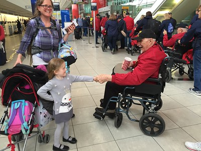 Central Valley Honor Flight 15 - Social Media Pictures
