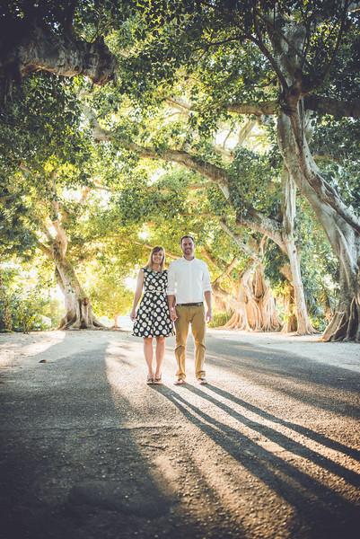 Boca Grande FL Banyan  Tree Street Gasparila Island Wedding Portraits by St Petersburg FL Photographer Kristen Sloan