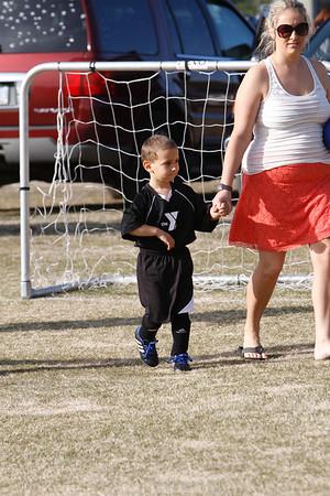 Cayden 1st Soccer Game