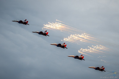 Mig-29 Fulcrum - Team Russian Swifts