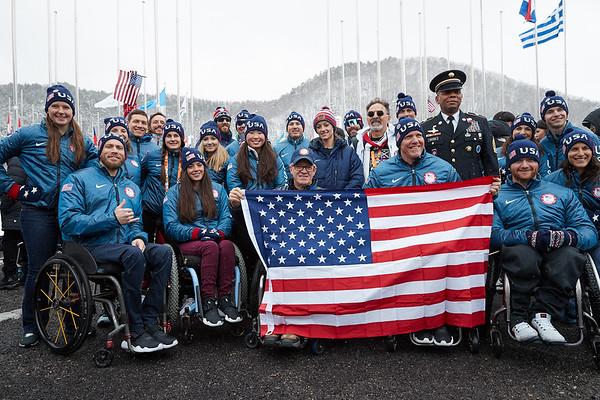 3-8-2018 U.S. Athlete Welcome Ceremony