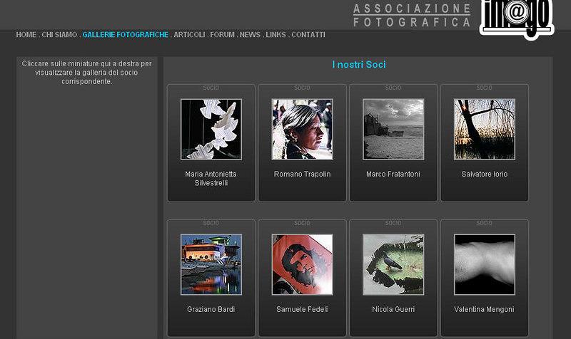 http://www.imagoarezzo.com sito del circolo aretino Imago, fondato nel 2001, con gallerie dei soci
