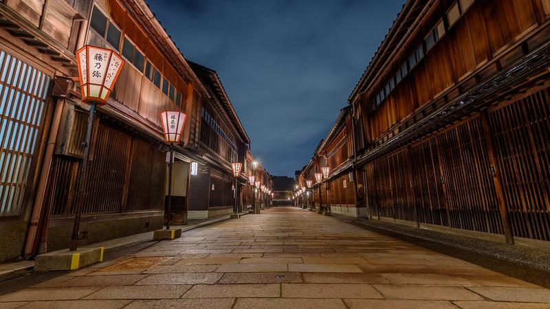 Higashi Chayagai || Kanazawa