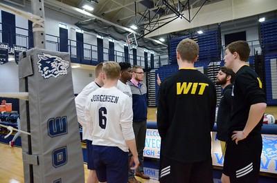 OE Boys Varsity Volleyball Vs Joliet West 2018