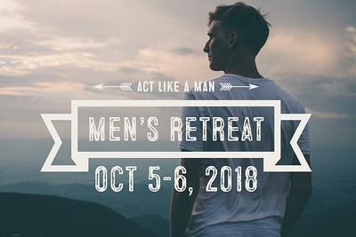 2018-10-05 Fall Men's Retreat