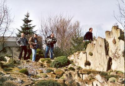 "T.V. recording ""Eigen huis en tuin"", 2001"