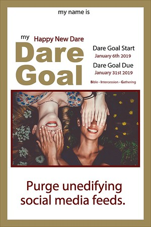 Happy New Dare DARE GOALS