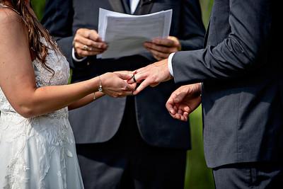 8/21/21 Brittney and Zach Married
