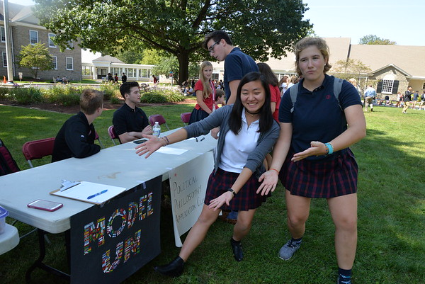 Upper School Activities Fair