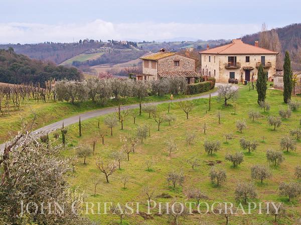 Fattoria Voltrona, The Tuscan Villa