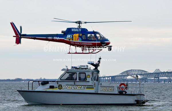 MSP Polar Bear Plunge Boats - 29 Jan 11
