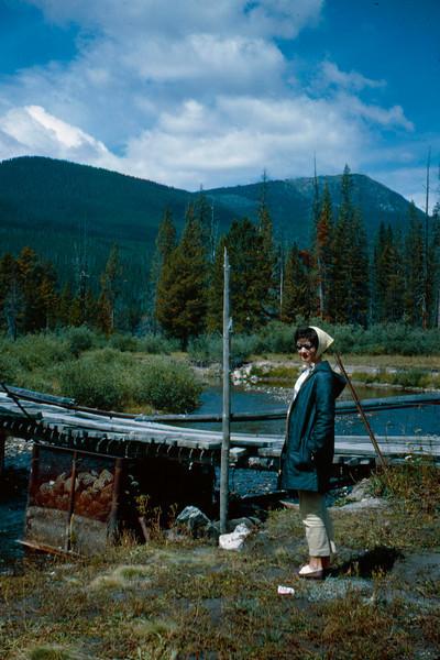 1965-09 - Rocky Mountain stream & Jo