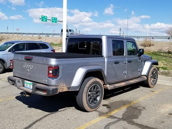 Jeep Gladiator sighting