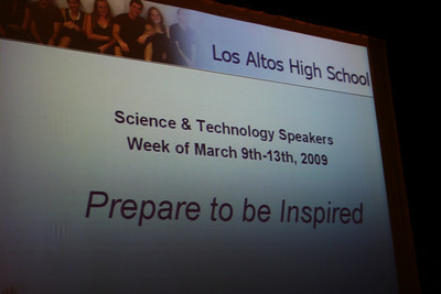 2009 LAHS Science & Tech Week Day 1