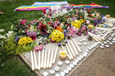 Rainbow Vigil in Bath