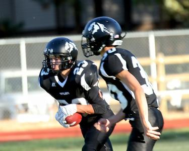 Outlaw JV Football vs Sweet Home 9-24-15