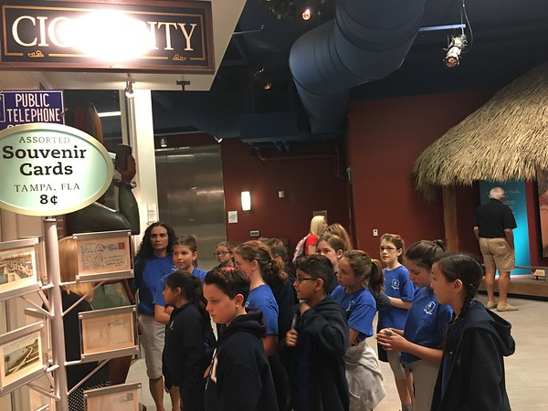 5th/6th Grade Tampa Bay History Field Trip 2017