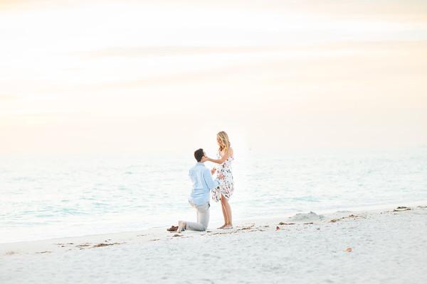 Jessie + Chas | St. Pete Beach Proposal