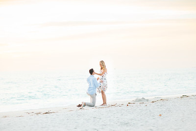 Jessie + Chas | St. Pete Beach Proposal