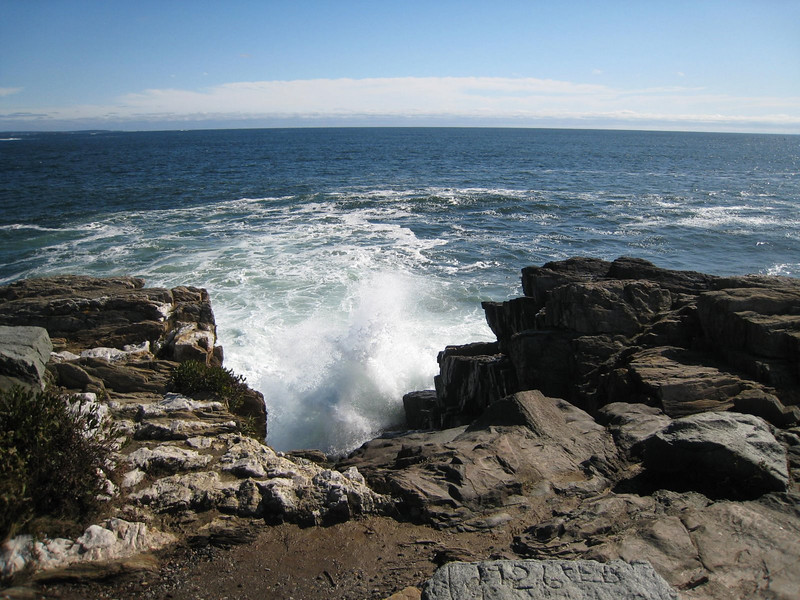 The Giant's Stairs - Bailey Island, Maine