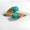 Vintage Bypass Gemstone Ring 7