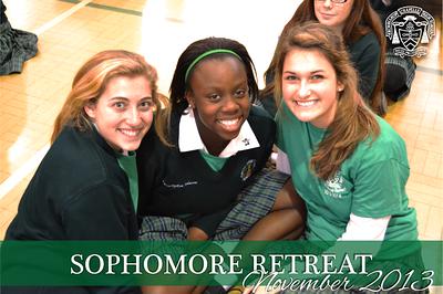 Sophomore Retreat 2013