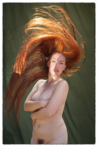 Zoefest   Flame hair 2013