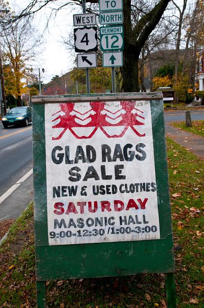 Glad Rags Sale, 2011