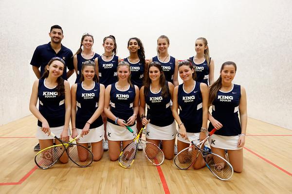 Girls' Squash Jan. 2017