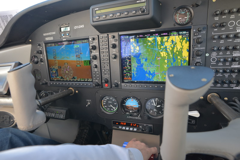 Cockpit of Partenavia