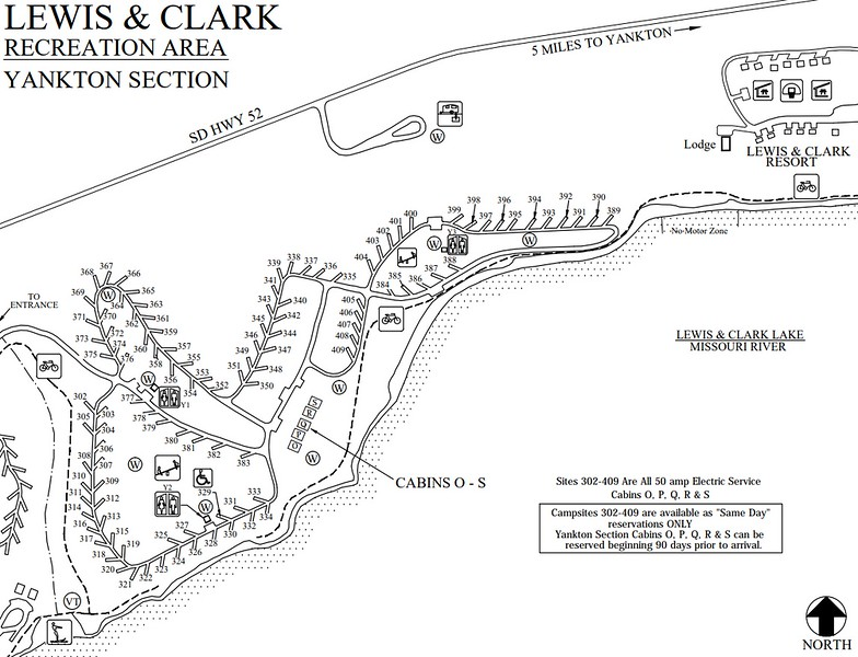 Lewis and Clark Recreation Area (Yankton Section)