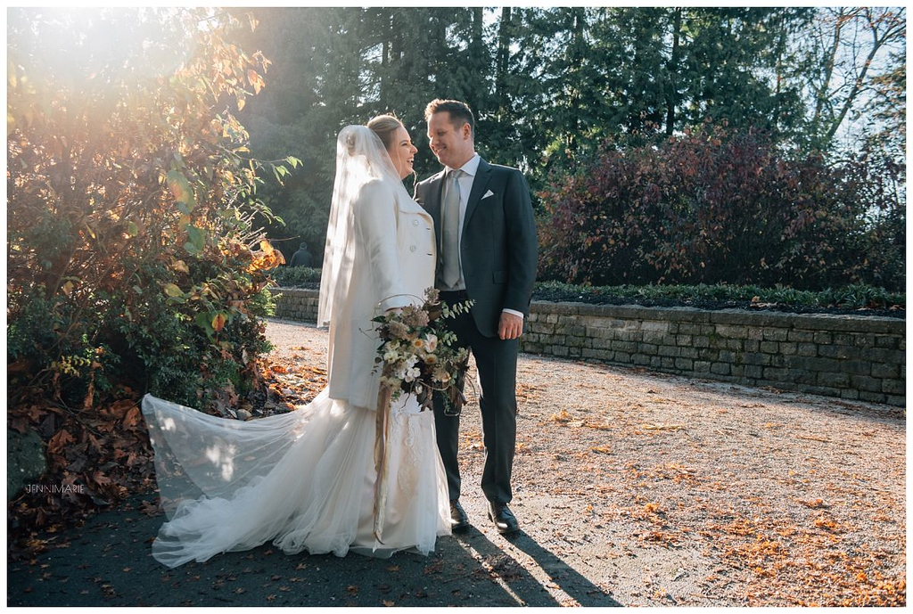 autumn wedding stanley park